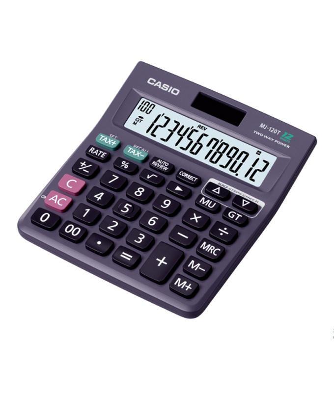 MJ-120 Basic Calculator - Dark Grey