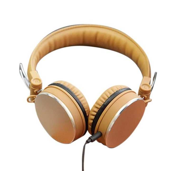 Y11 Stereo Headphone - Gold