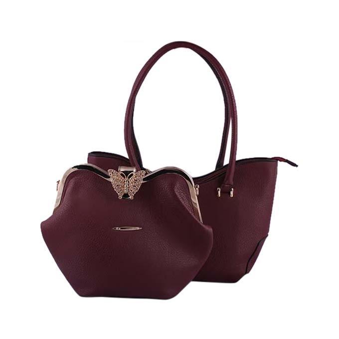 Maroon Shoulder Bag for Women