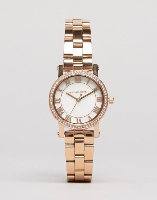 e6bfeaca5886 Specifications of MK3558 - Rose Gold Stainless Steel Analog Watch for Women.  Brand. Michael Kors