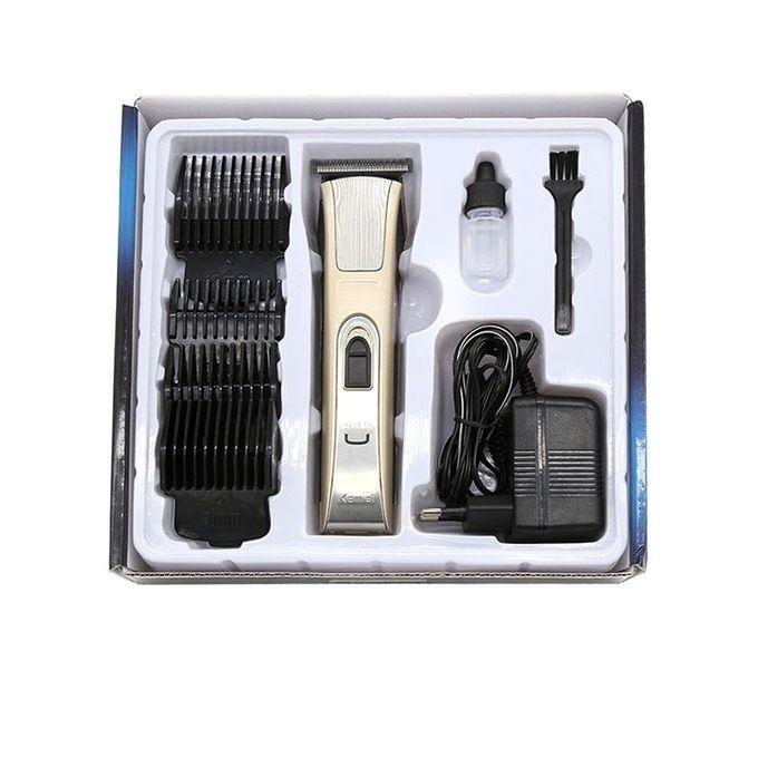 KM-5017 Rechargeable Electric Hair Clipper/Trimmer for Men - Rose Gold