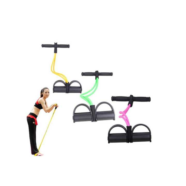 Foot Chest Resistance Rubber Bands for Exercise