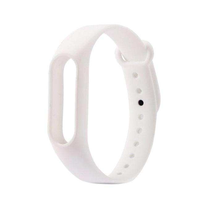 Calandiva TPU Mirror Chrome Softcase untuk Xiaomi Mi4i Mi4c Gold 2 . Source · Mi Band 2 Strap - White