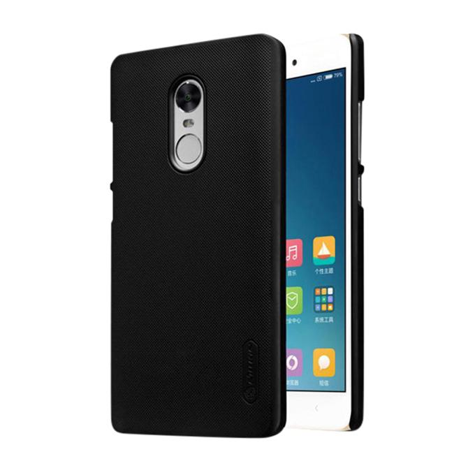 Super Frosted Shield Back Cover for XIAOMI RedMi Note 4X - Black