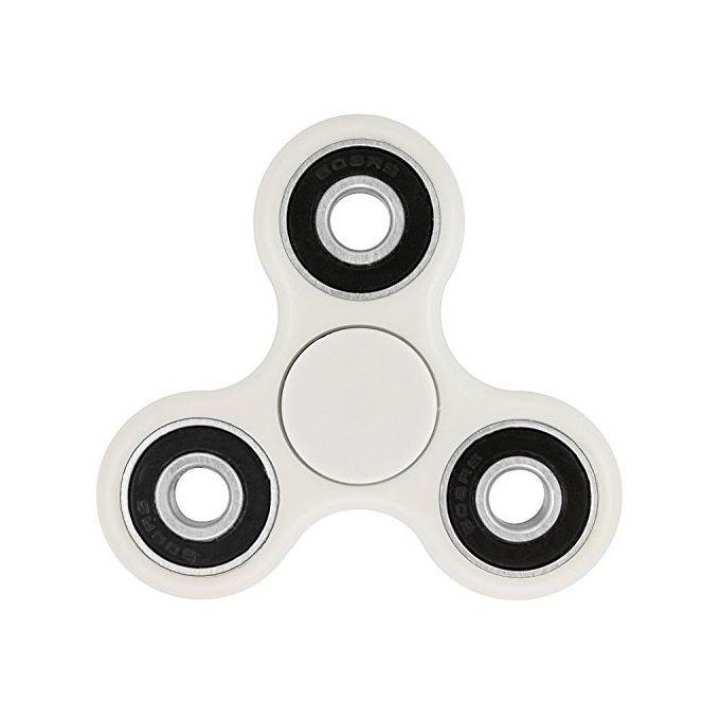 Fidget Spinner Stress Reducer Regular Toy – White