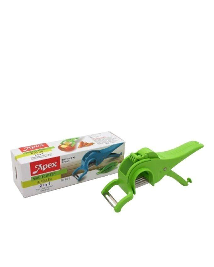 Apex 2 in One Multi Cutter With Peeler - Red