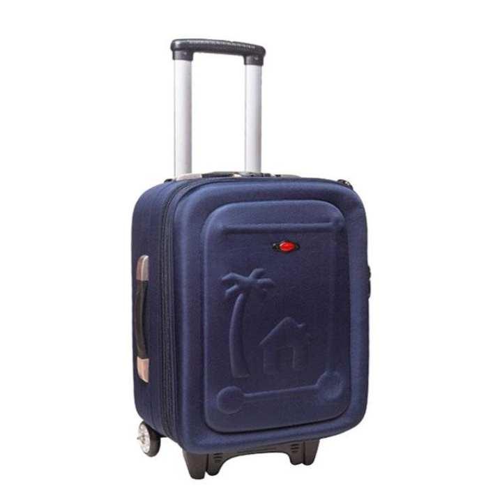 "24"" Navy Blue Parachute Fabric Trolly Bag"