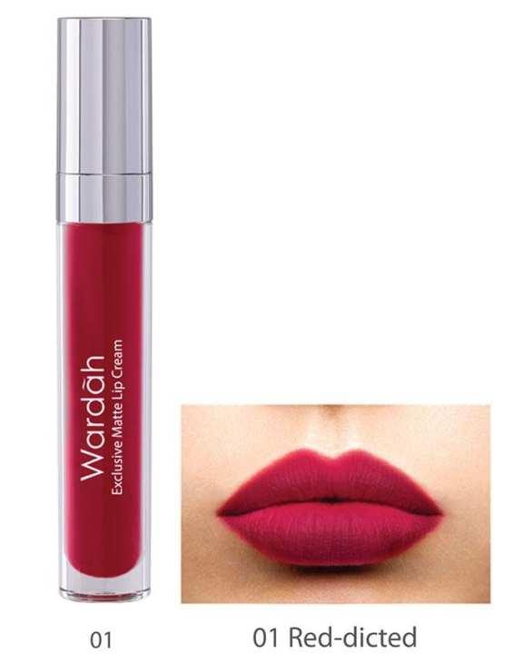 Exclusive Matte Lip Cream 01 Red-Dicted - 4 gm
