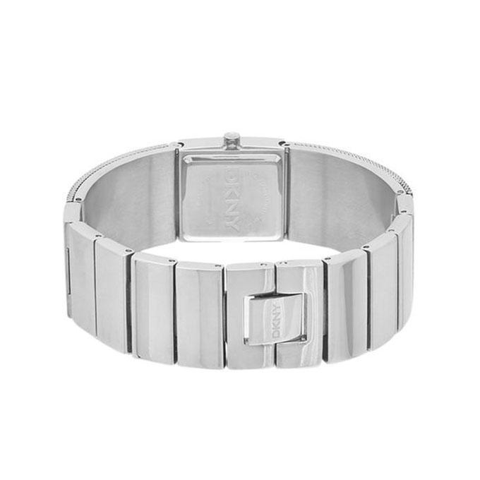 NY2112 Stainless Steel Mesh Bracelet Analogue Watch - Silver