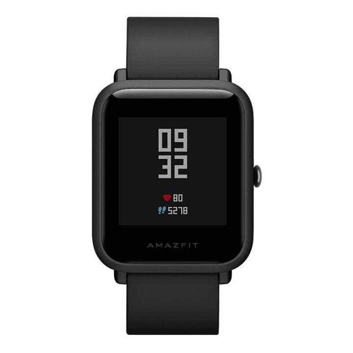 Amazfit Bip Mi Fit Reflection Waterproof Smartwatch - Black
