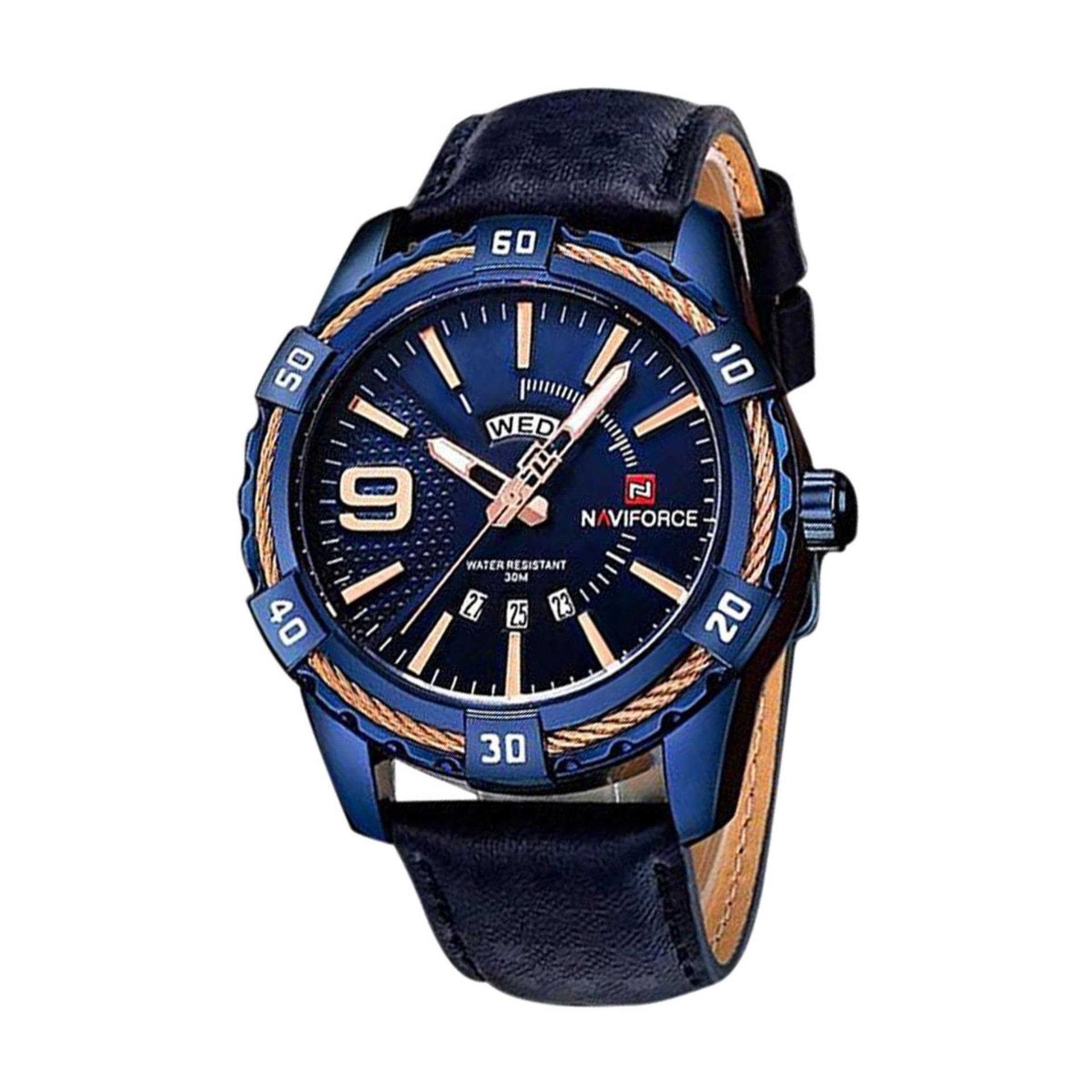 NF9117 Stainless Steel Analog Watch for Men Blue