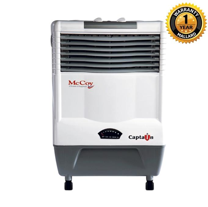 Captain Evaporative Air Cooler – 17 Liter - White & Black