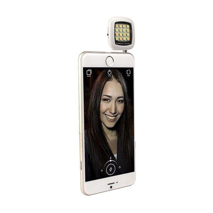 Selfie LED Flash Light - White