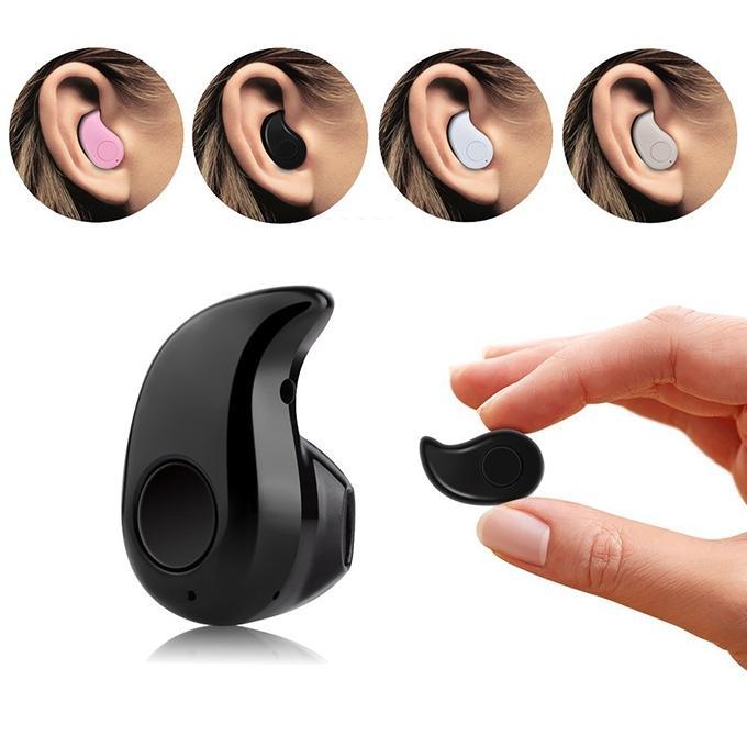 Mini Wireless Headset Earphone - Black
