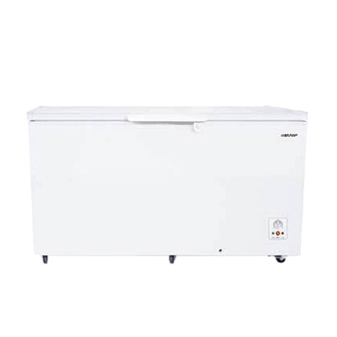 SJ C415WH Chest Deep Freezer - 410 L - White