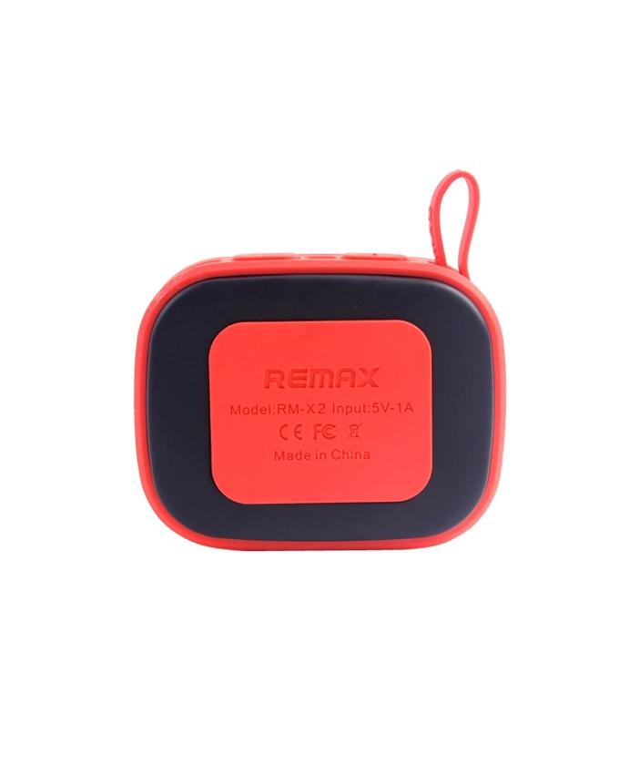 RB-X2 Bluetooth Speaker - Red and Black