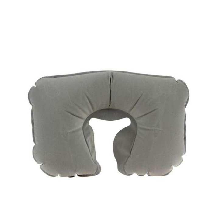 Travel Comfort Neck Pillow With Eye & Ear Cover – Random