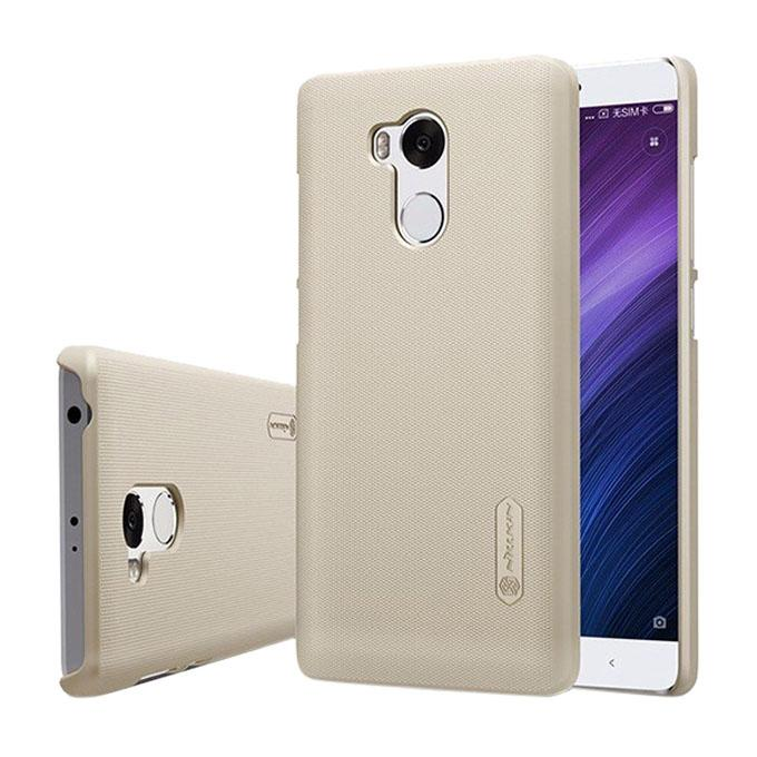 Super Frosted Shield Back Cover for Xiaomi RedMi 4 Pro - Golden