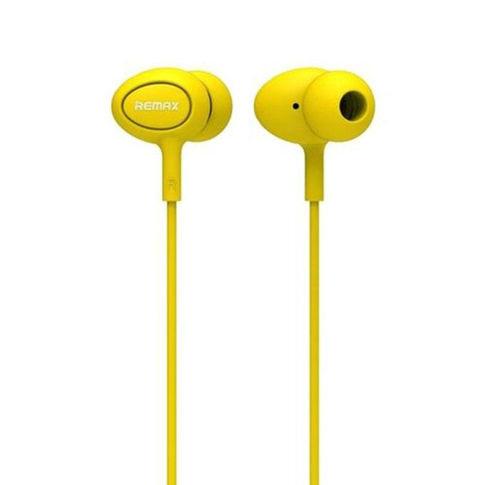 RM-515 Candy Series In-Ear Earphone - Yellow