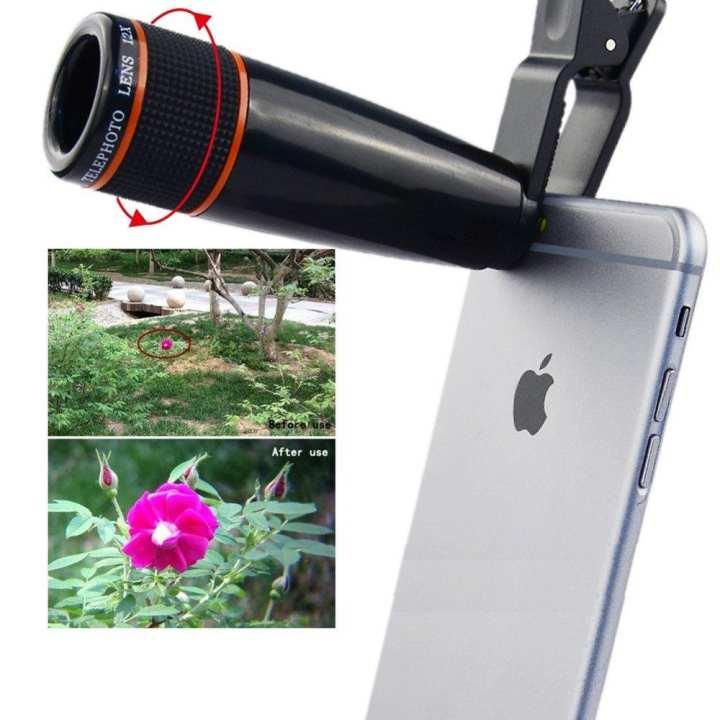 12X Telephoto Lens Mobile Phone Optical Zoom Telescope Lens