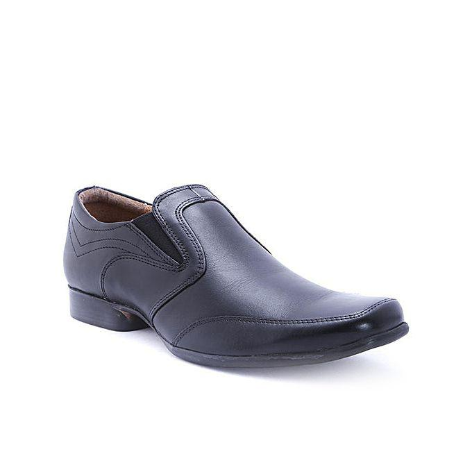 Leather Formal Shoe - Black