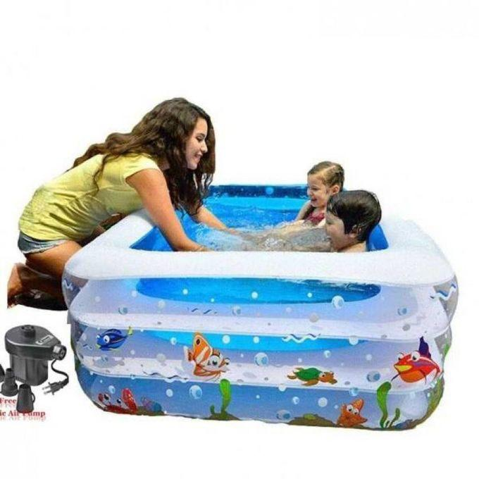 Swimming Pool With Air Pumper for Baby