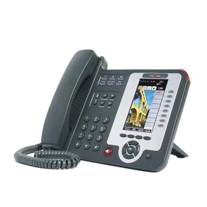 ES620-PEN Color Display Executive Operator IP Phone set - Black