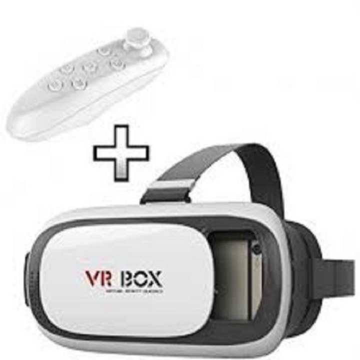 Vr Box Version 3D Vr Virtual Reality Glasses with Bluetooth Remote
