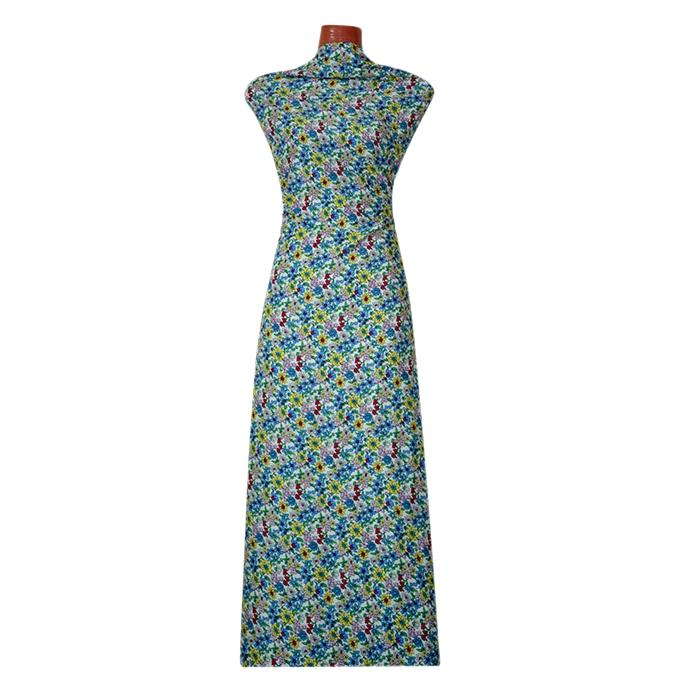Multicolor Chinese Linen Unstitched Fabric for Women