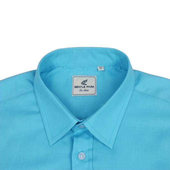 Cobal Cotton Shirt For Men