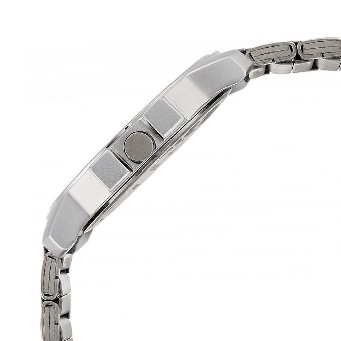 3039SM02 - Metal Analog Watch For Men - Silver