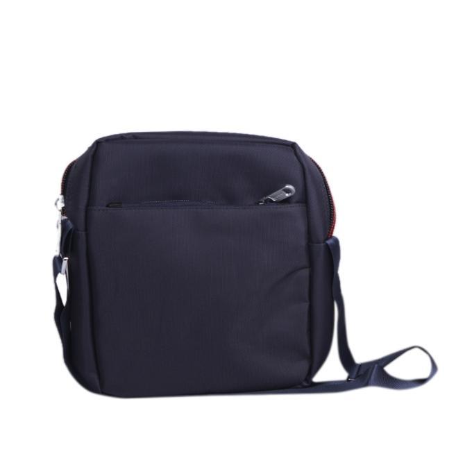 MidNight Blue Polystar Messenger Bag For Men