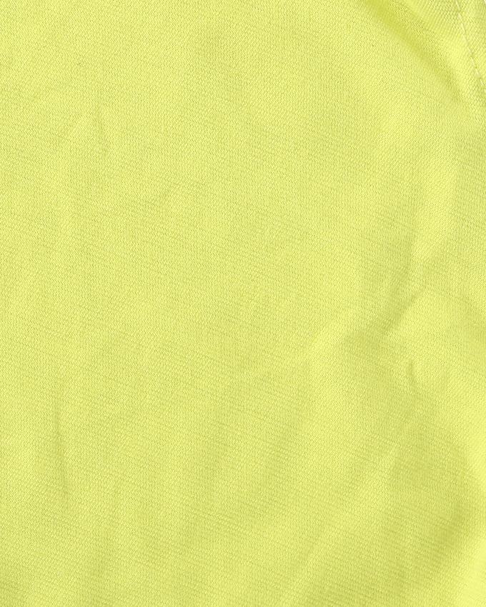 Jersey Cotton Neck Ninja Cap - Lemon Yellow