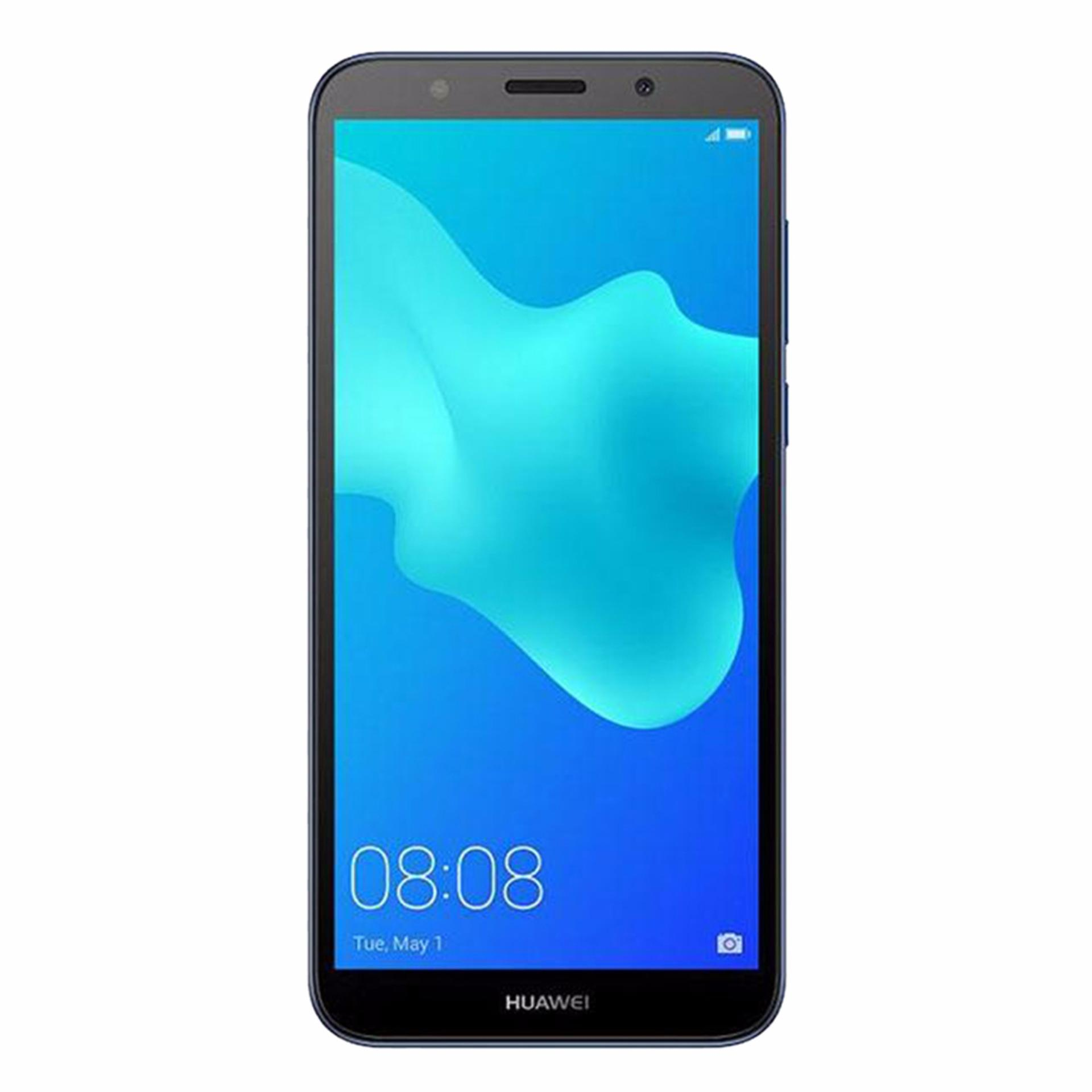 "Huawei Y5 Prime 2018 Smartphone 5.5"" - 2GB RAM - 16GB ROM - 13MP Camera - Blue"