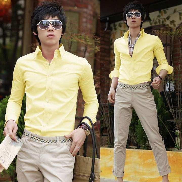 Cotton Blend Formal Shirt for Men