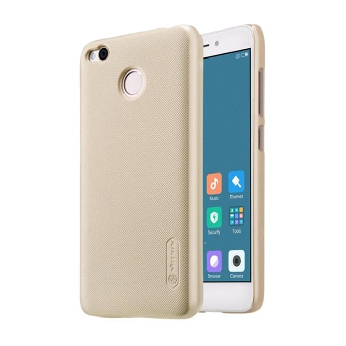 Super Frosted Shield Back Cover for Xiaomi RedMi 4X - Golden