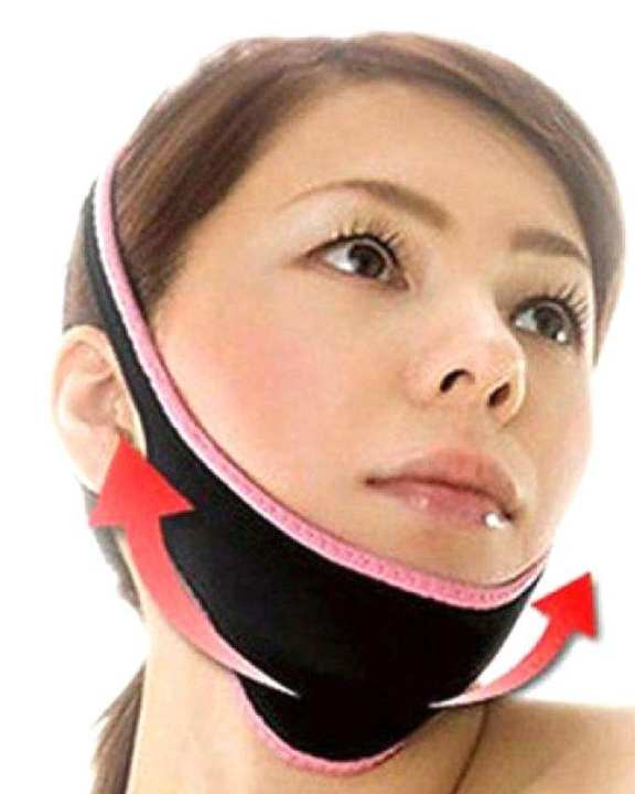 Z Band Face Slimmer And Any Snore Reduction - Black