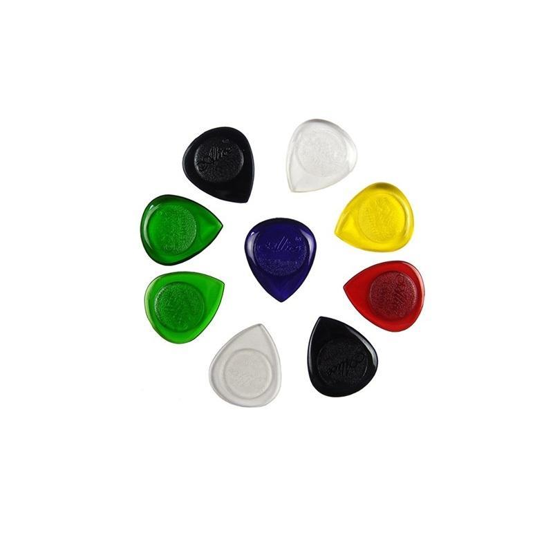 AP-100JS Picks 6 Pcs - Multicolor