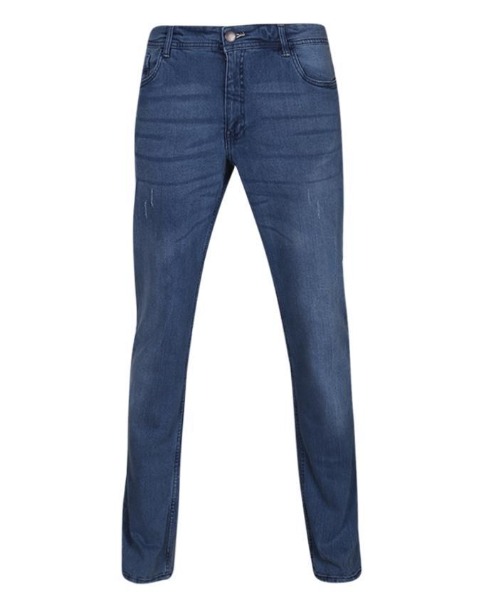 Jeans Pant For Men - Steel Blue