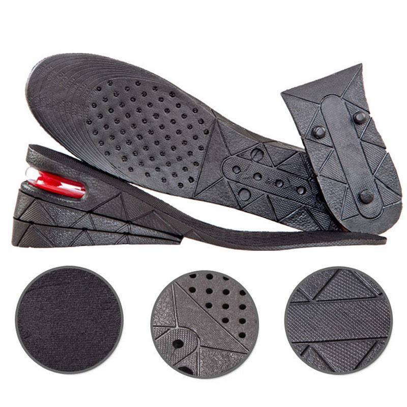 Shoes Pads Heel Lifts Height Foot Increase Adjustable Height Four Layers Insoles