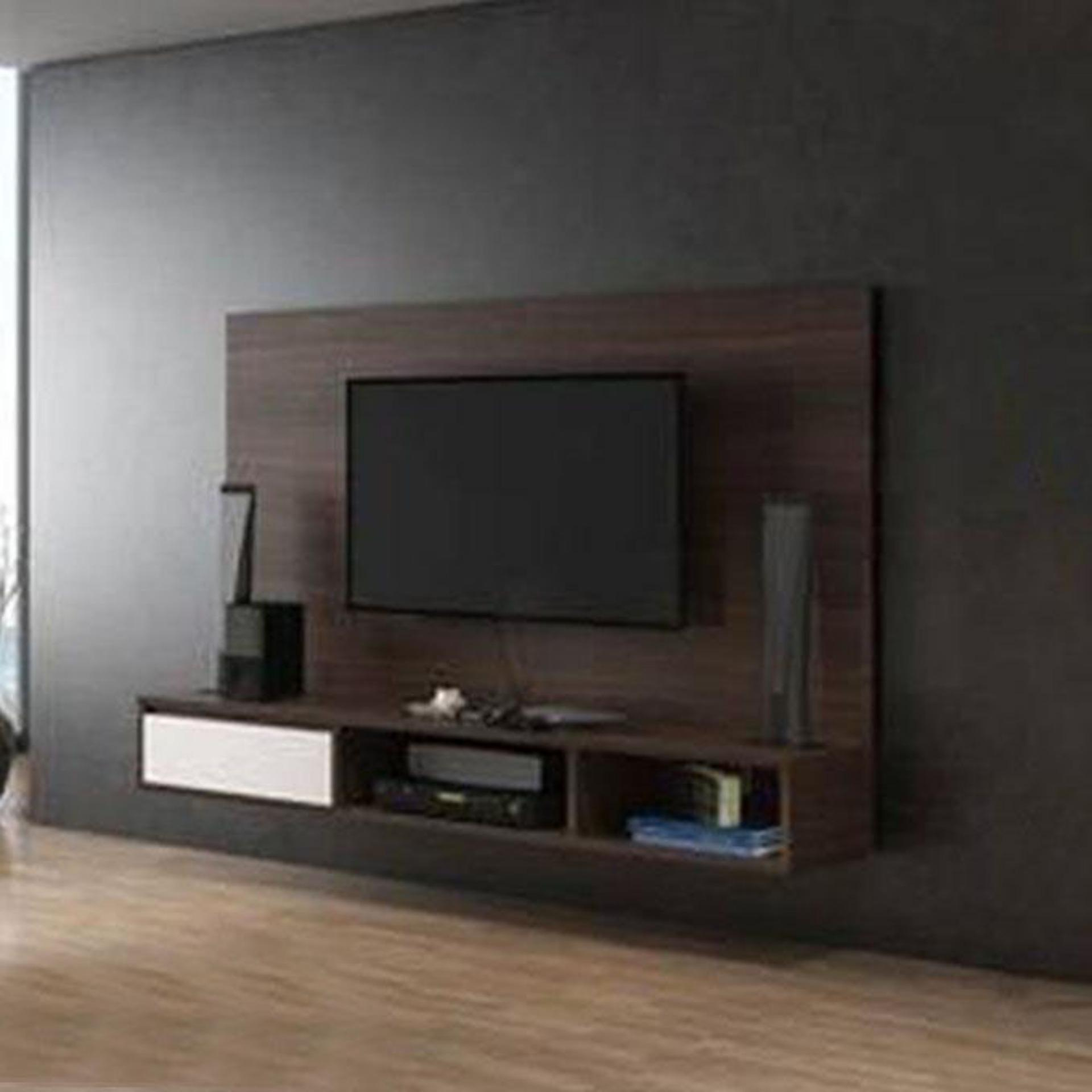 Malaysian Processed Wooden Tv Cabinet Deep Chocolate Buy Online