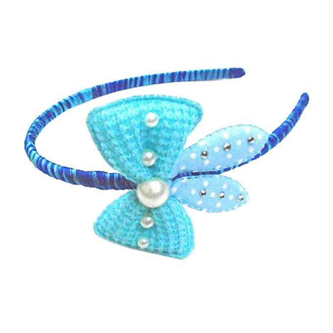Blue Hair Band For Girls