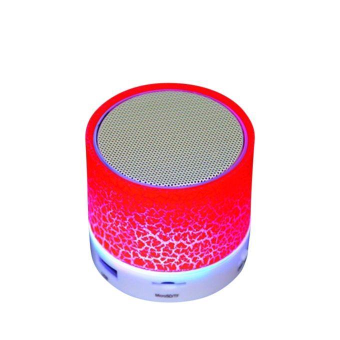 Led Light Mini Bluetooth Speakers – Red