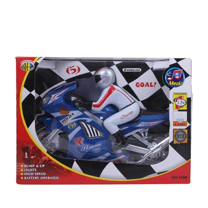 Metal and Plastic Motor Manif - Blue