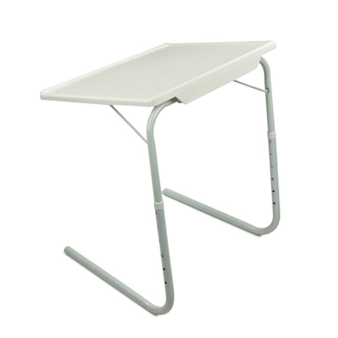 Portable Adjustable Table - White
