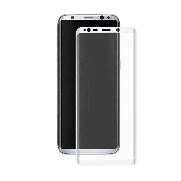 3D Tempered Glass Film for Samsung Galaxy S8 - Transparent