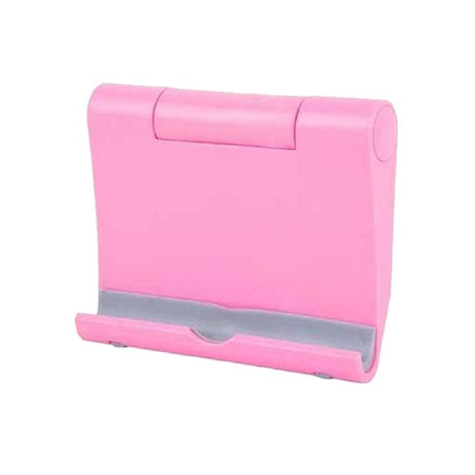 Universal Foldable Mini Stand Stents For Cell Phone - Pink
