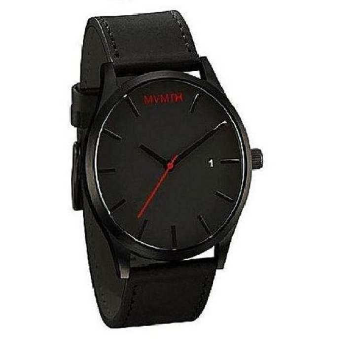 Black MVMT Analog Wrist Watch