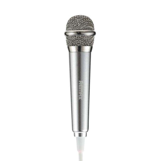 RMK-K01 Singsong K Mini Microphone for Smartphone/Tablets/Computer – Silver