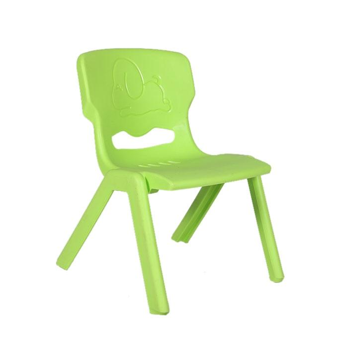 Green Plastic Chair For Kids